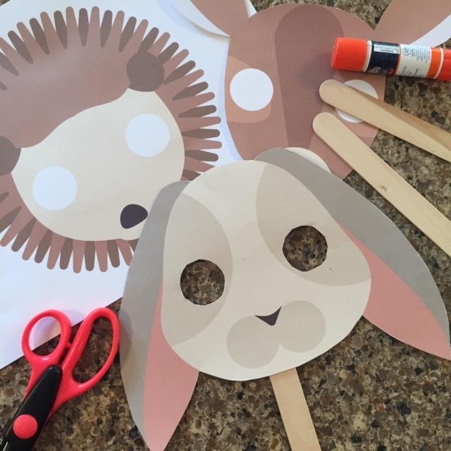 Easy Forest Animals (Masks)