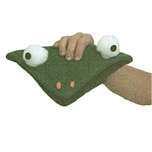 Image of Frog Hand Puppet