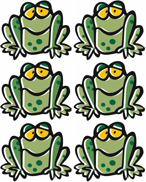 frog-bookmark-pattern