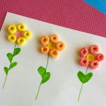 Fun Fruit Loop Flowers