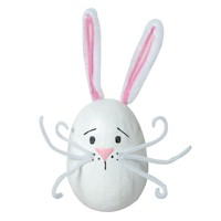 Image of Wooden Easter Bunny Decoration