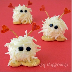 Image of Fuzzy Valentine Cheese Balls