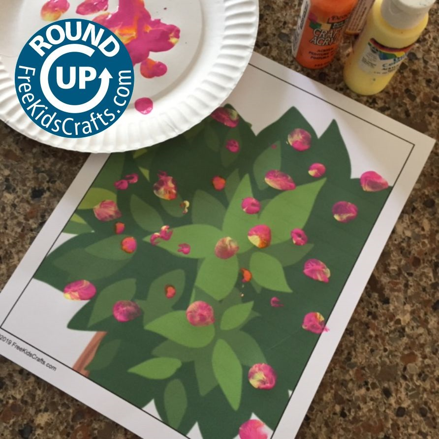 Round up of Flower Crafts for young children
