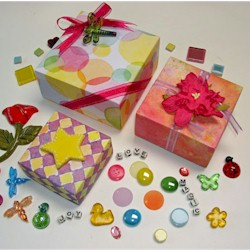 how to make your own gift boxes