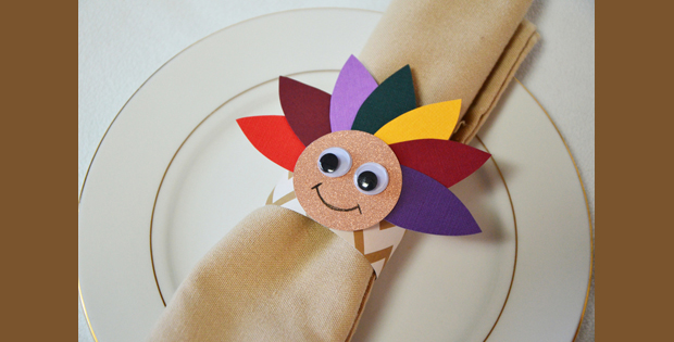 Thanksgiving Turkey Napkin Ring