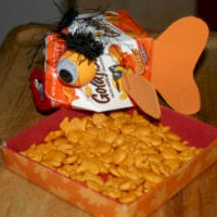 Image of Recycled Goldfish  Party Dish