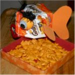 Recycled Goldfish  Party Dish