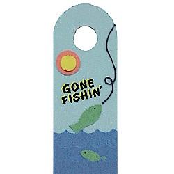 Gone Fishin Door Hanger