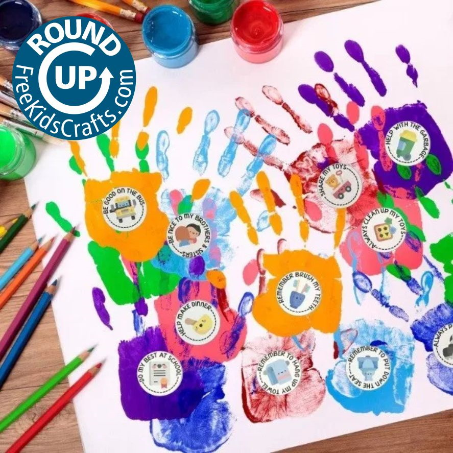 Roundup of crafts and activities to help young children be good citizens