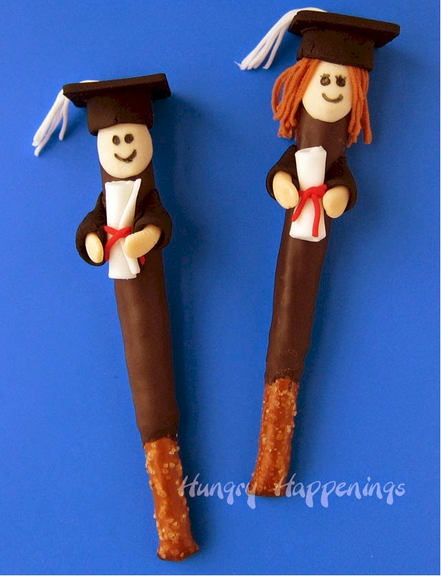 Graduate Pretzel Treats