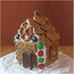 Graham Cracker Milk Carton House