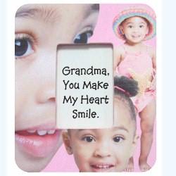 Grandparent's Decoupage Frame