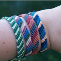 Image of Kumihimo Braided Friendship Bracelet