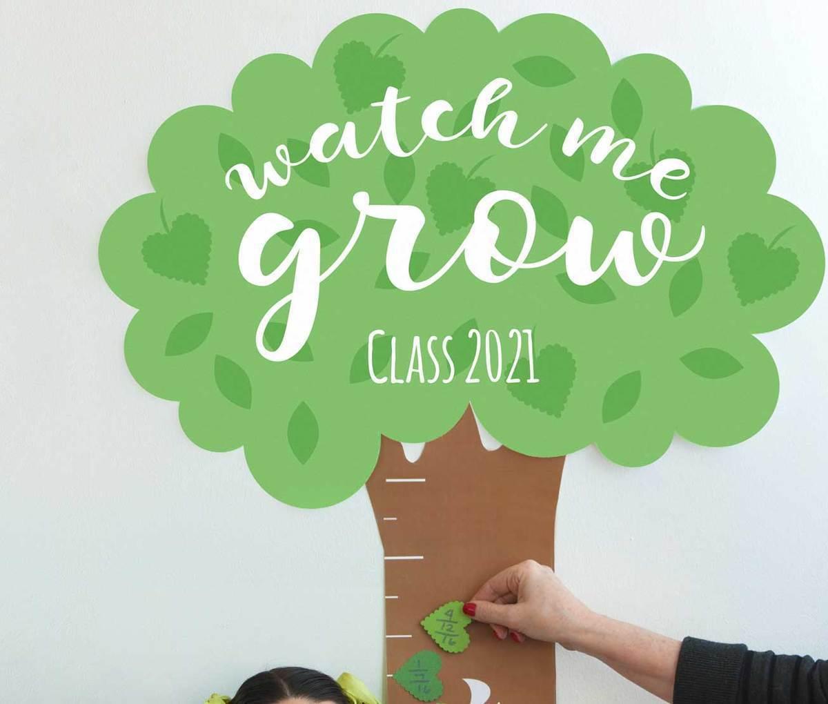 Image of How Tall Am I Tree Chart