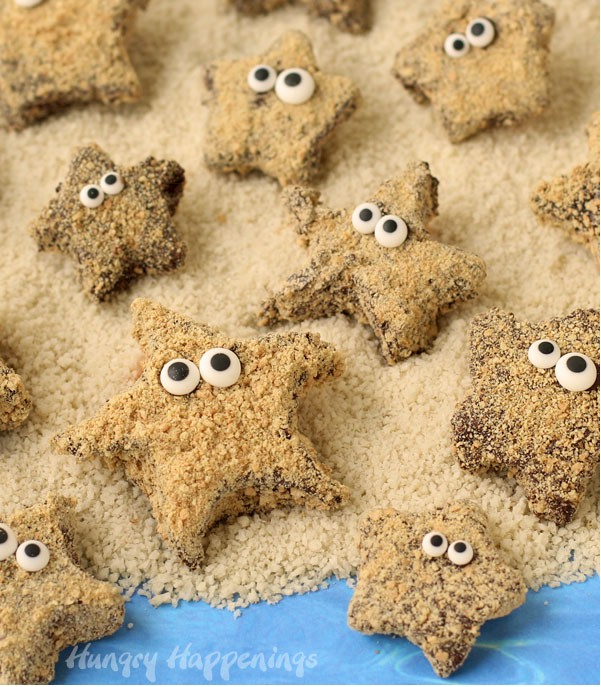 Make Your Own S'mores Starfish Treats
