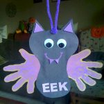 Halloween Handprint Bat