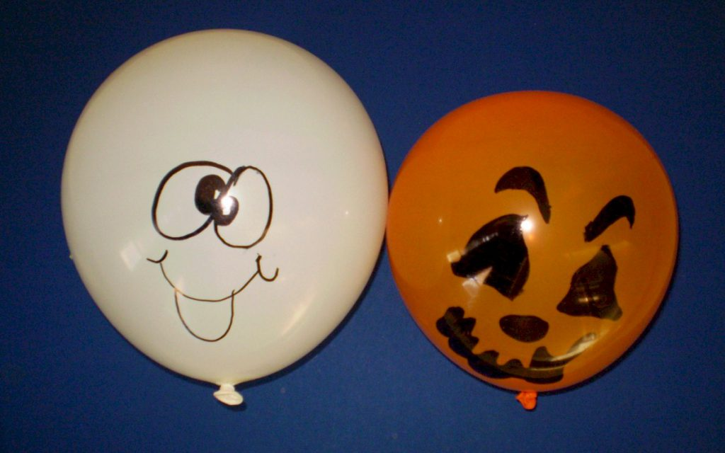 Halloween Party Balloon Activity