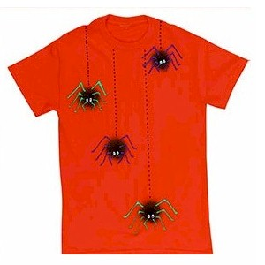 How To Make A Halloween Spider Tee Shirt