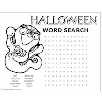Halloween Word Puzzles