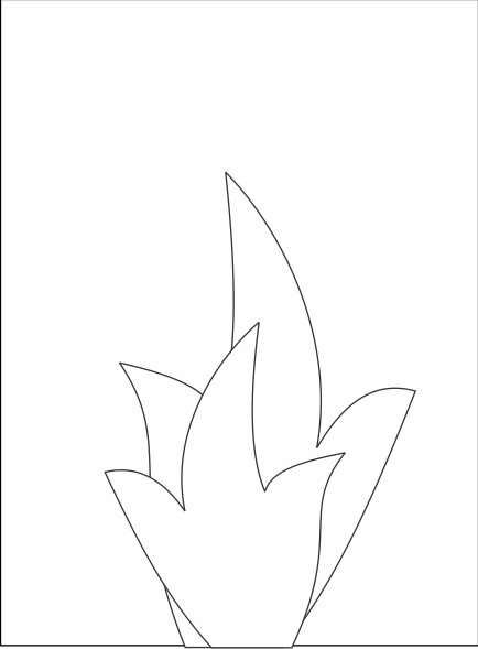 handprint-bw-campfire-printable