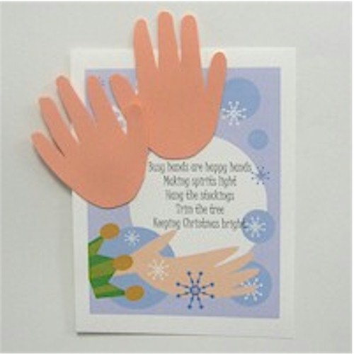 Handprint Christmas Poem