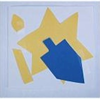 Image of Hanukkah Tissue Paper Cut Outs
