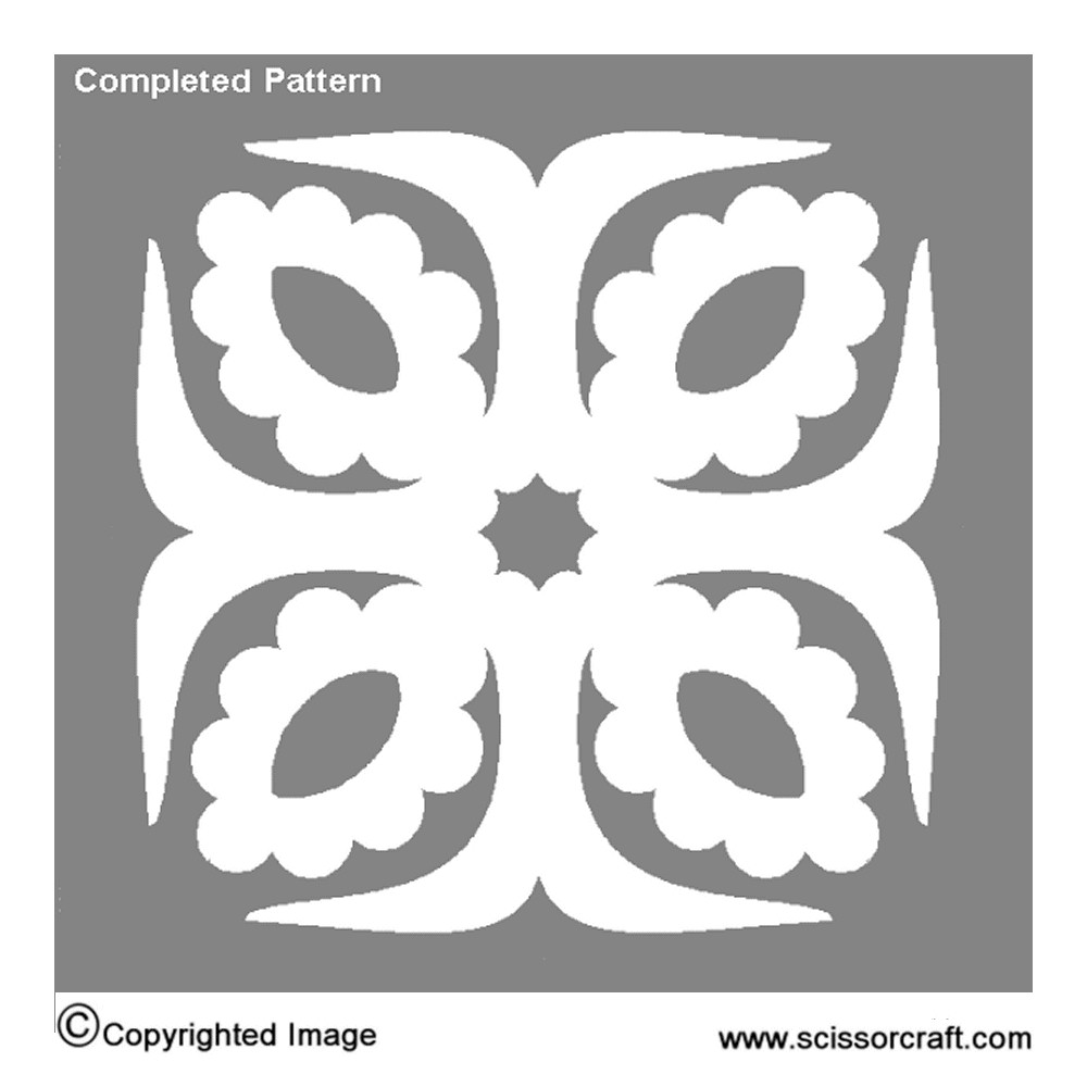 hawaiian-snowflakes-pattern