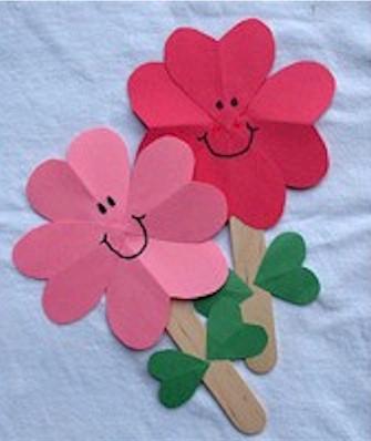 Image of Valentine Heart Flowers