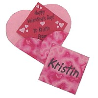 Valentines with Heart Shaped Envelopes