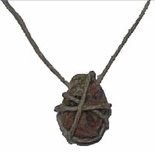 Image of Hemp and Rock Necklace