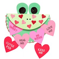 Image of Puppet Valentine Card
