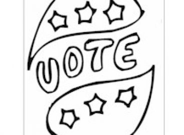 Printable winter clothes for photos free kids crafts for Free election day coloring pages