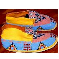 Image of Native American Moccasins