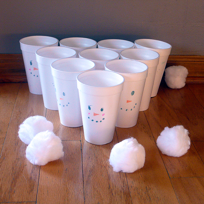 Image of Indoor Snowball Game