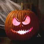 Make A Jack Skellington Pumpkin