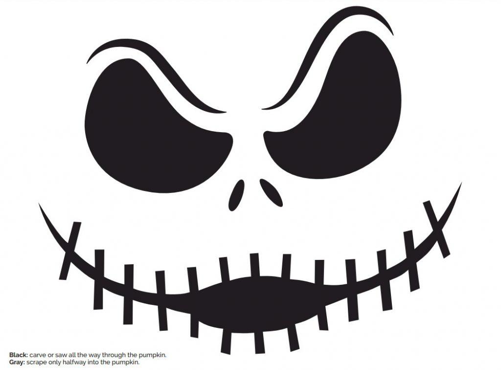 jack pumpkin stencil - photo #9