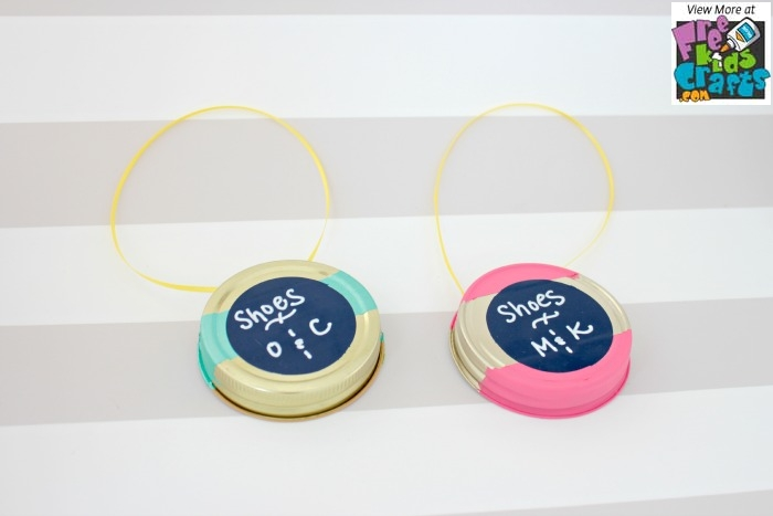 Make Labels From Jar Lids