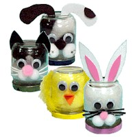 Image of Baby Food Jar Animals