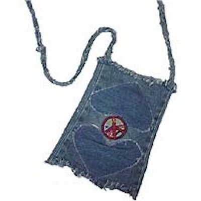 Image of Jeans Leg Purse