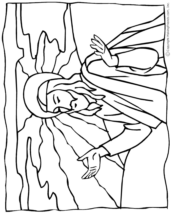 religious craft coloring pages - photo#6