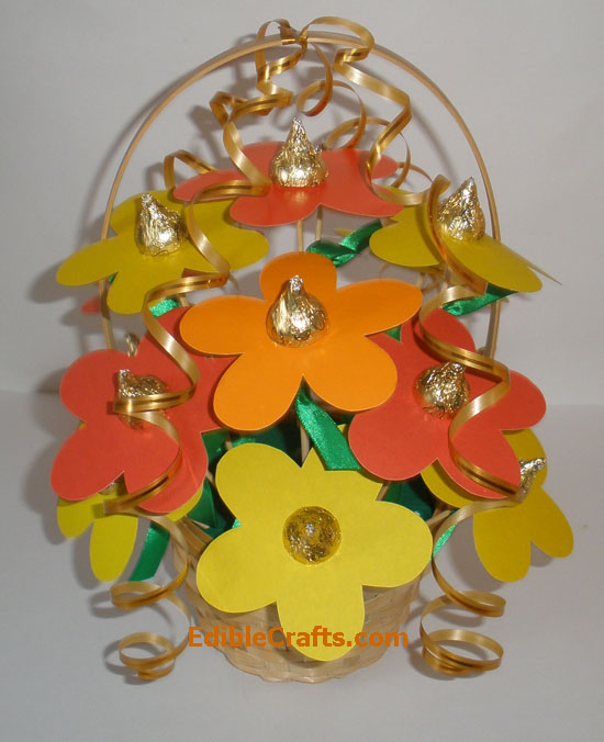 Image of Tea Light Flower Centerpieces