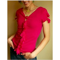 Image of Recycled Knotted Tee Shirt