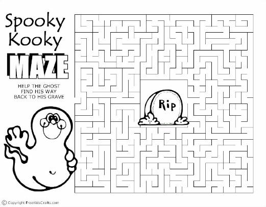 kooky-maze