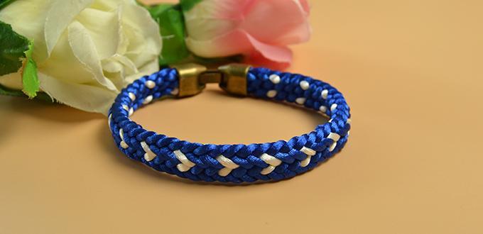Kumihimo Braided Friendship Bracelet