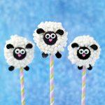 Lamb Oreo Pops