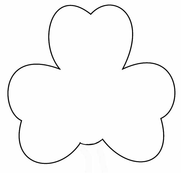 graphic regarding Shamrock Printable Template named Shamrock Gentleman