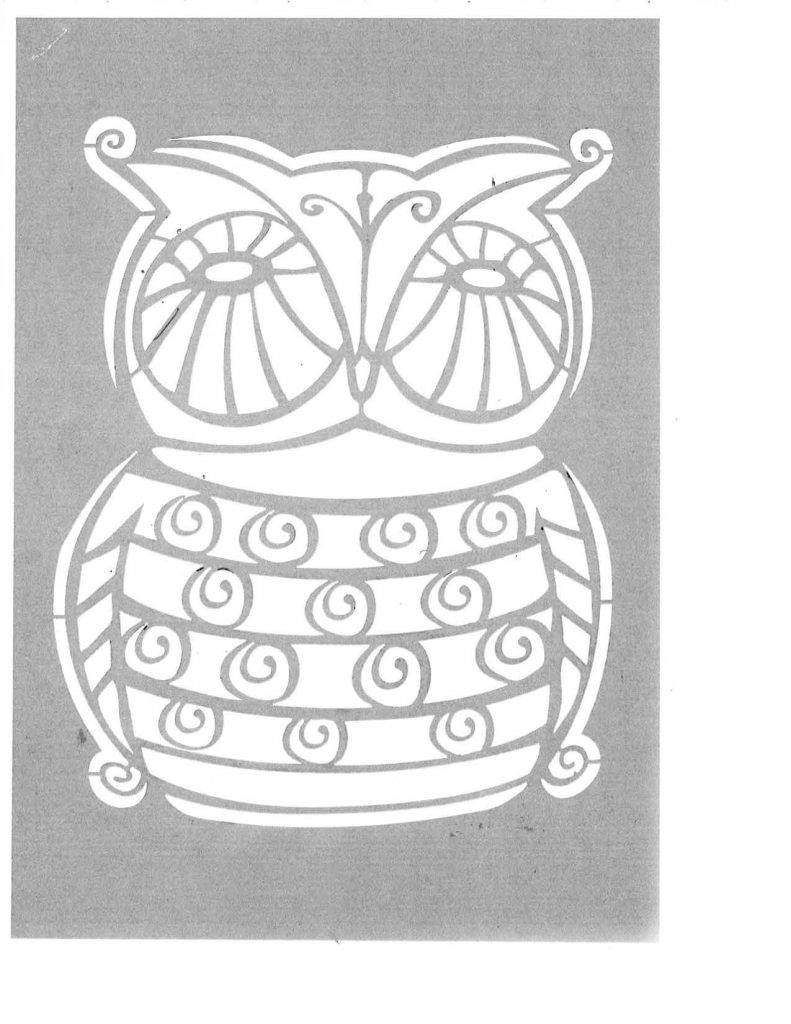 laundry-bag-owl-pattern
