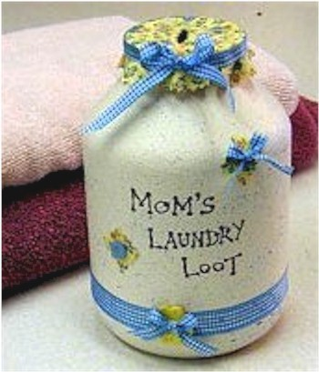 Image of Laundry Loot Jar