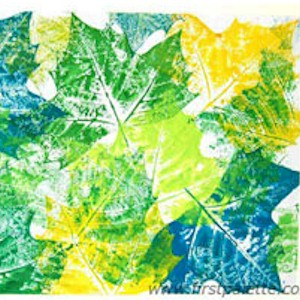 Image of How To Make A Leaf Print