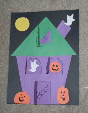Image of Peek A Boo Haunted House